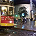 Lisabon portugal coca cola tramvaj 28