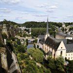 La Corniche pogled na Grund, Luksemburg