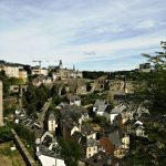 Pogled sa terase Palace pravde, Luksemburg