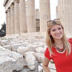 akropola atena grcka selfie stick solo putovanja