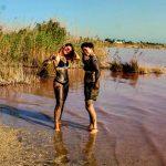 ljekovito blato španjolska Laguna Rosa Ružičasto Jezero
