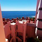 Muralla Roja pogled na Mediteransko more