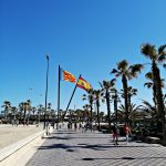 playa malvarrosa valencia plaza
