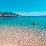 Kupanje na Zlatnom ratu, kristalno čisto more