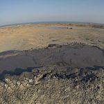Aktivni vulkan u mirovanju gobustan azerbajdžan
