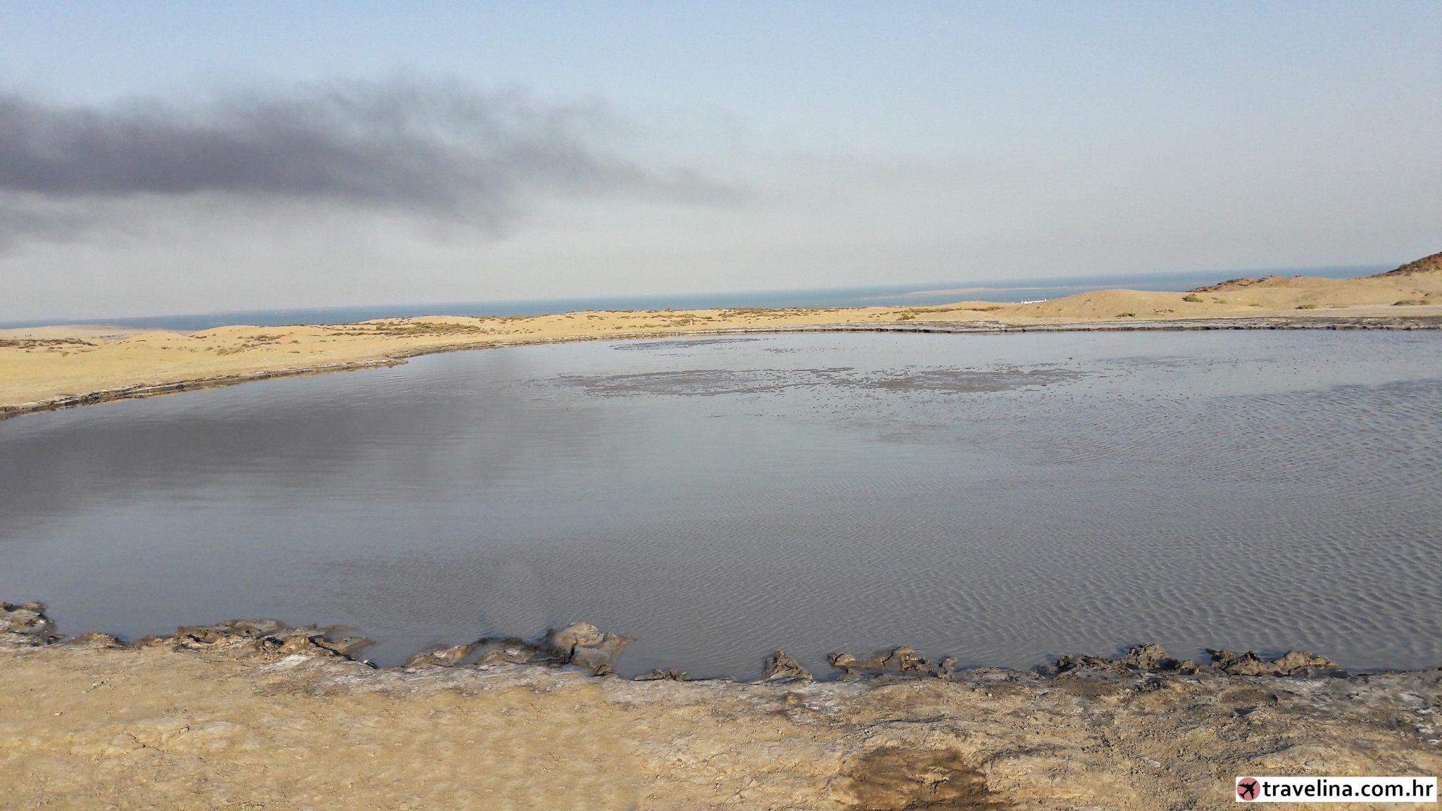 blatnih vulkana Azerbajdžana