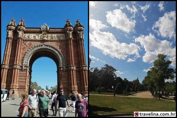 Arco de Triunfo de Barcelona + Ciutadella Park