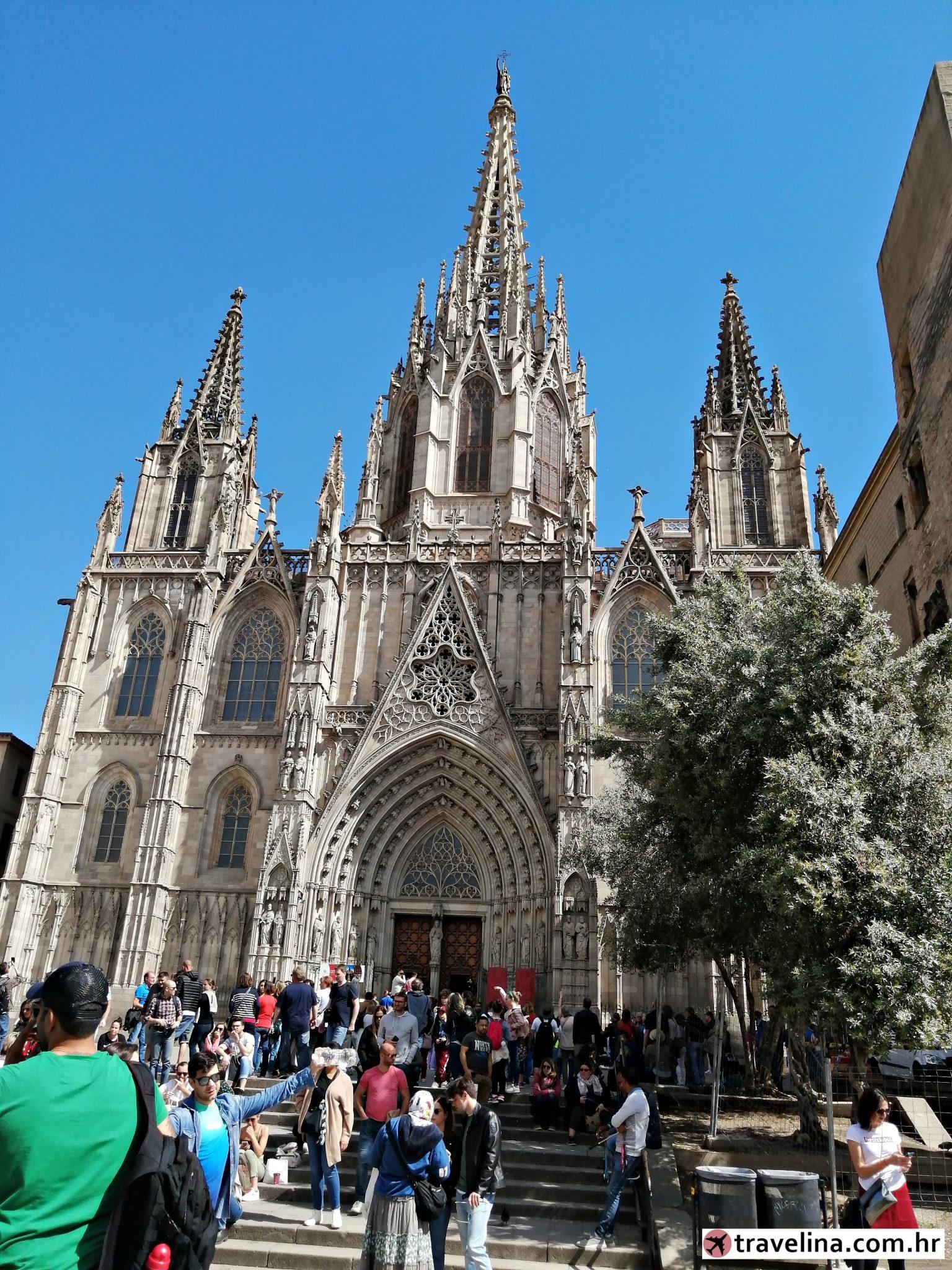 Barcelona Katedrala viken u barceloni