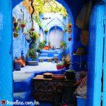 Chefchaouen (Plavi grad) fotogenicno mjesto u gradu
