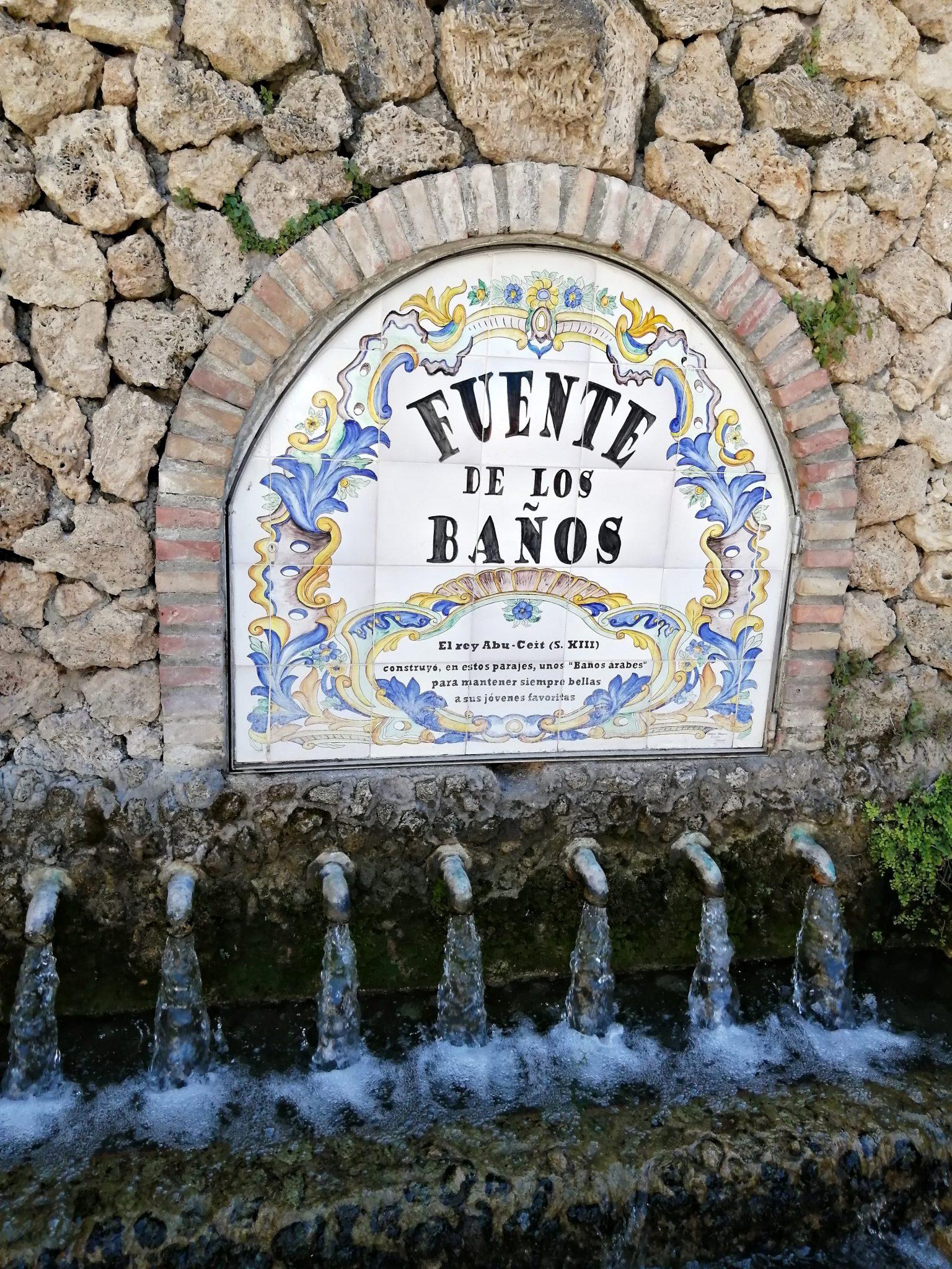 Fuente de los banos Montanejos - Izvori termalnih voda