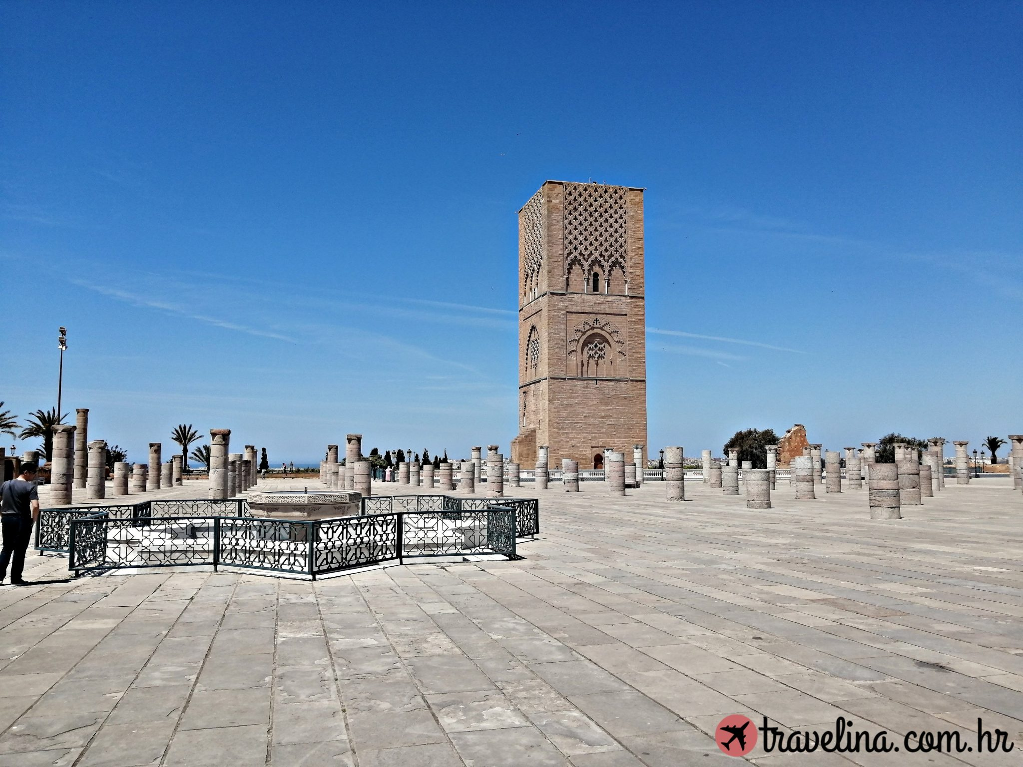Hassan Tower, Rabat, Maroko