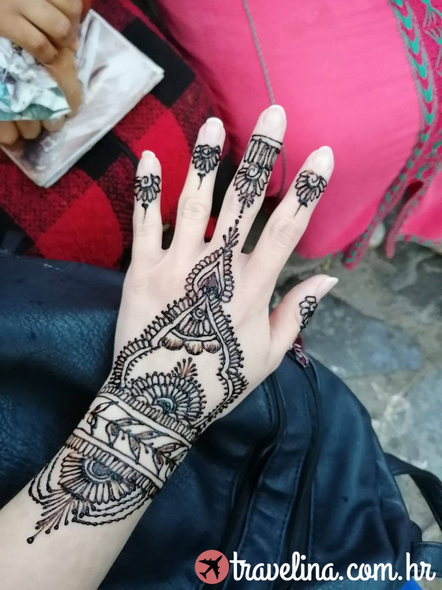 Henna tattoo, Maroko