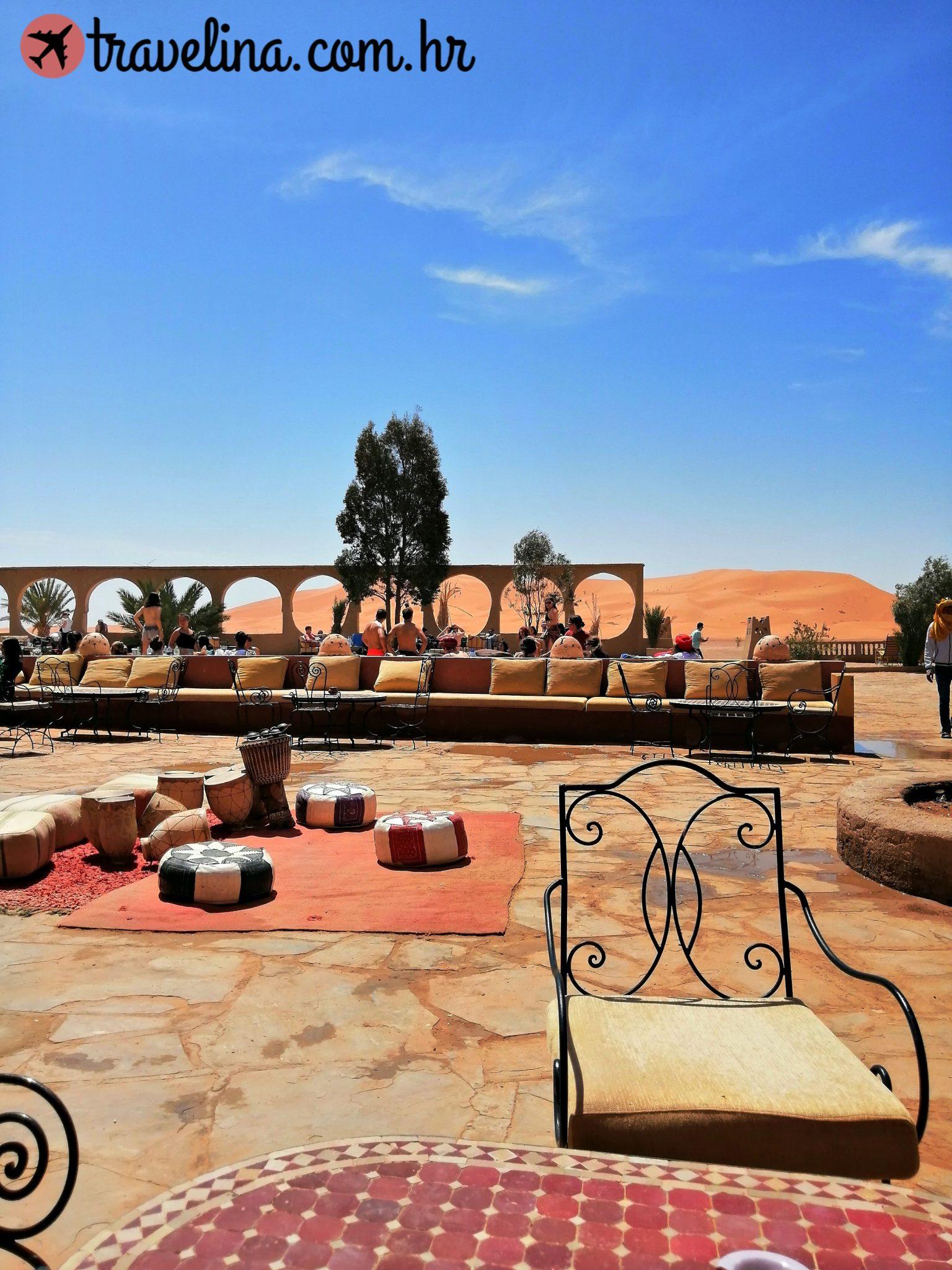 Hotel u Merzouga Pustinji