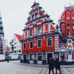 Kuca crnih glava - Riga - city hall square