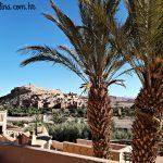 Ouarzazate, Maroko - pogled na Filmski grad