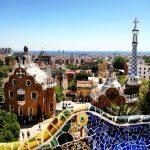 Park Guell - Pogled vikend u barceloni booking.com popusti u 2021