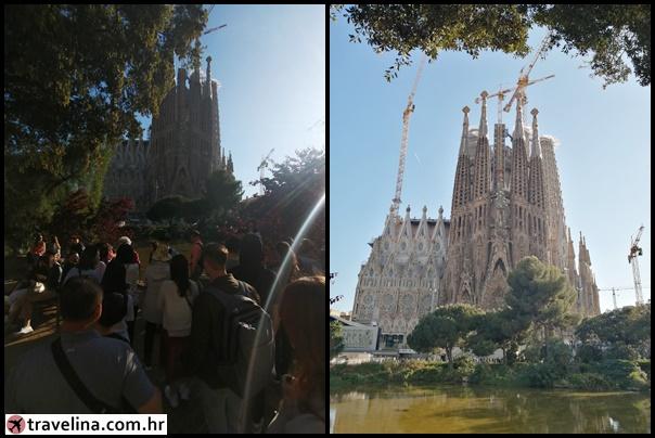 Sagrada Familia - ocekivanje i realnost