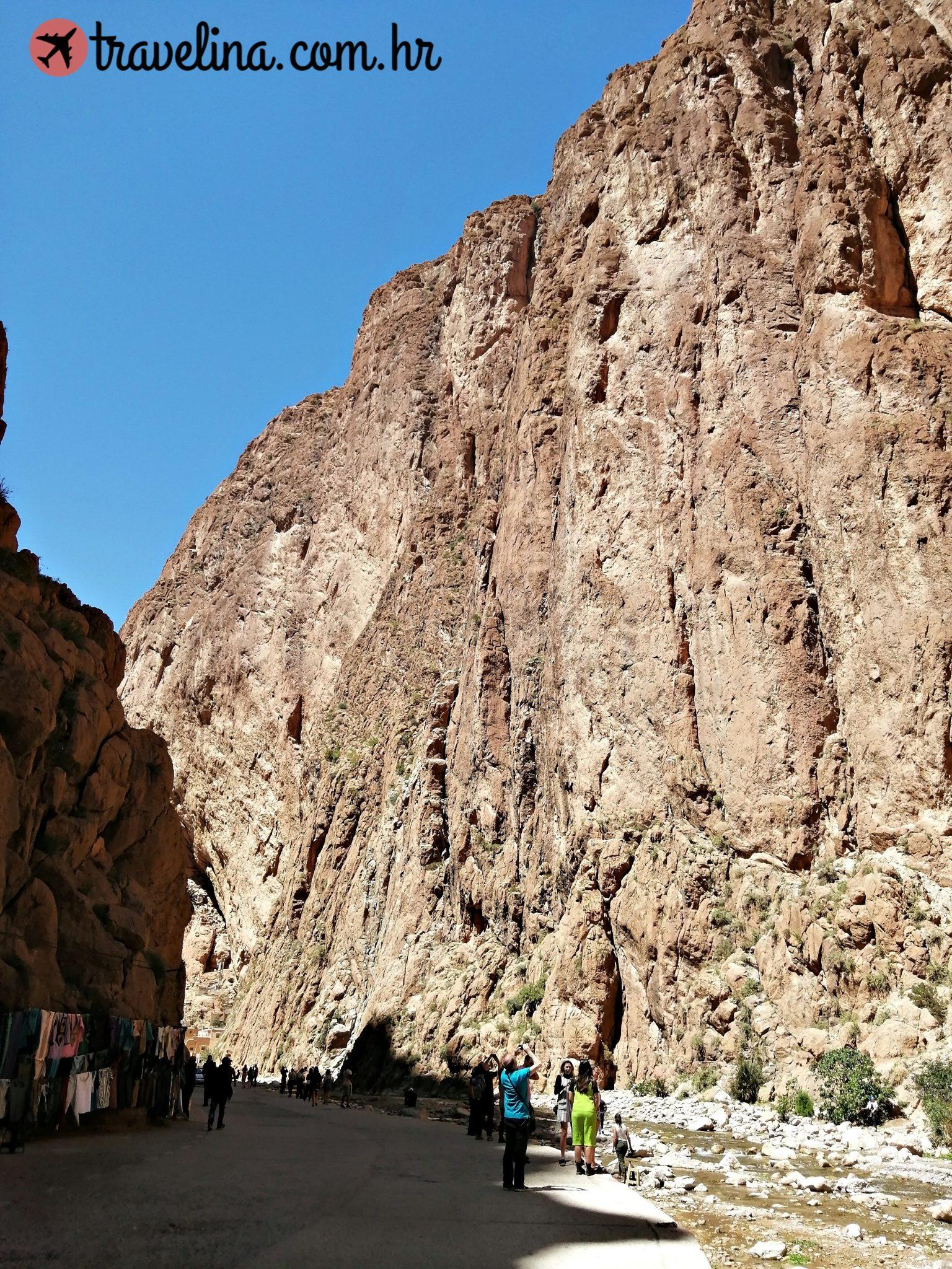 Tinghir, putovanje u Maroko