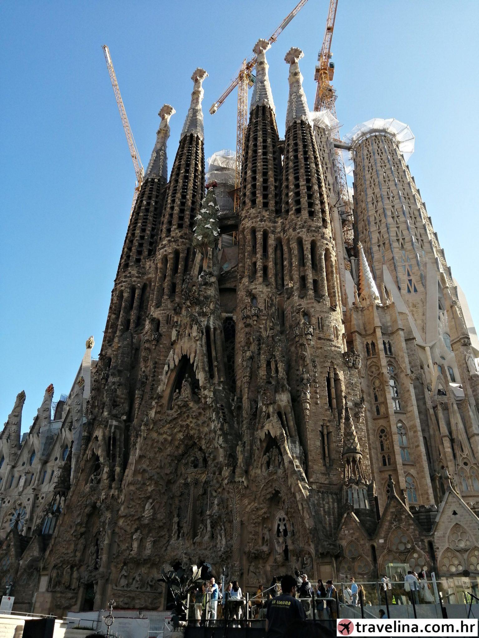 sagrada familia vikend u barceloni