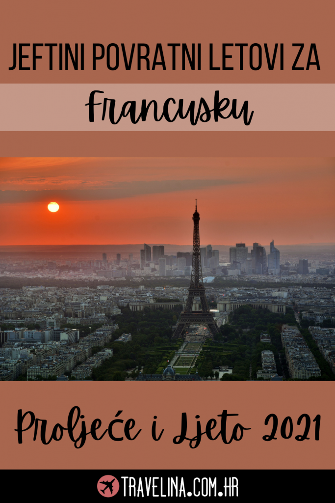Jeftini Povratni Letovi za Francusku