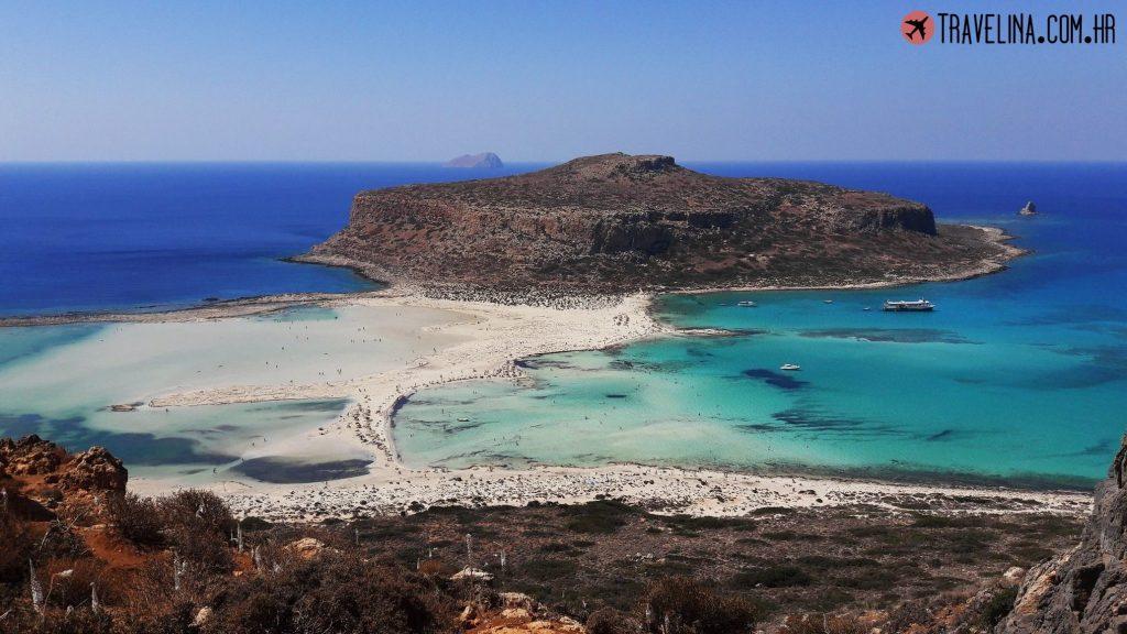 Pogled na Balos plazu travelina