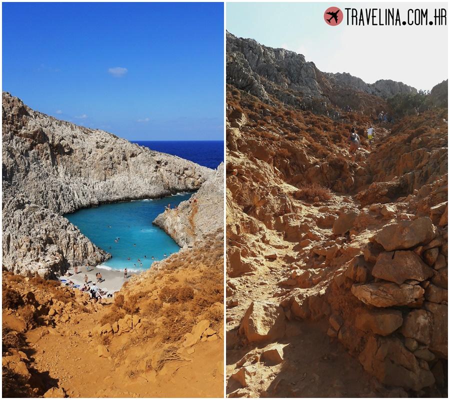 SEITA LIMANI plaza na kreti u grckoj sve plaze na kreti beaches on crete travelina