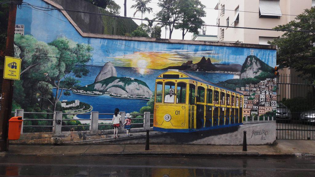 Street art - Santa Teresa
