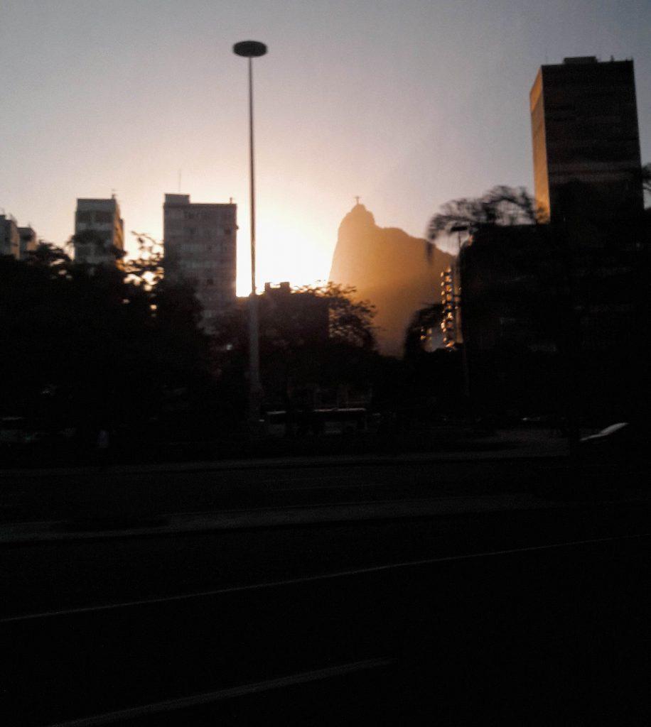 Zalazak sunca kip isusa rio