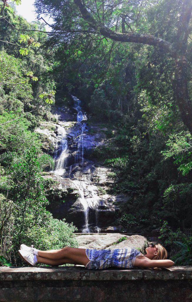 Cachoeira do Horto tijuca brazil prašuma