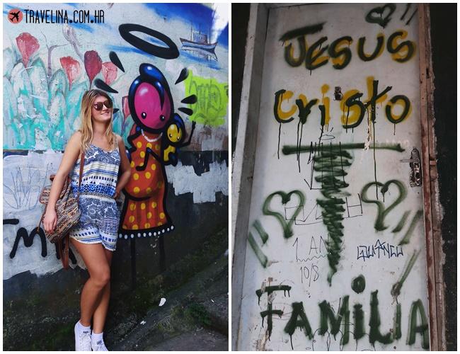 Grafiti u favela Rochina