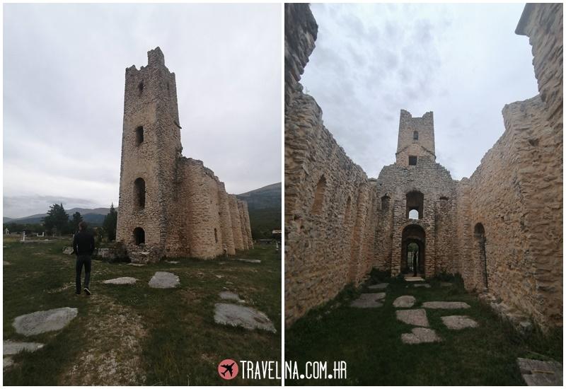 crkva svetog spasa starohrvatska cetina travelina com hr
