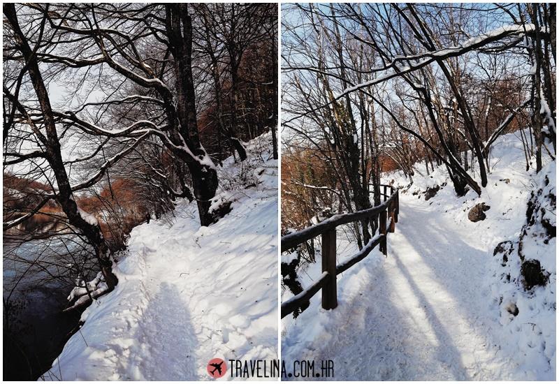 vikend na plitvicama plitvicka jezera travelina zima snijeg