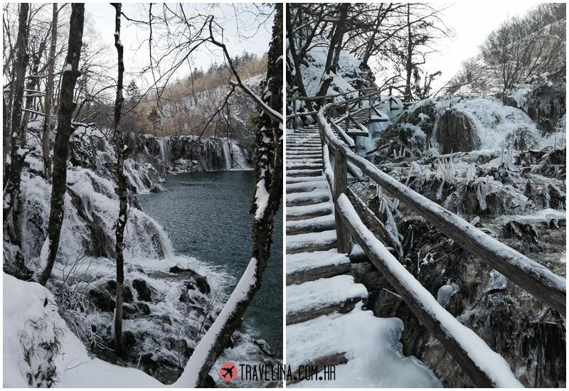 vikend na plitvicama plitvicka jezera travelina zima snijezna idila slapova