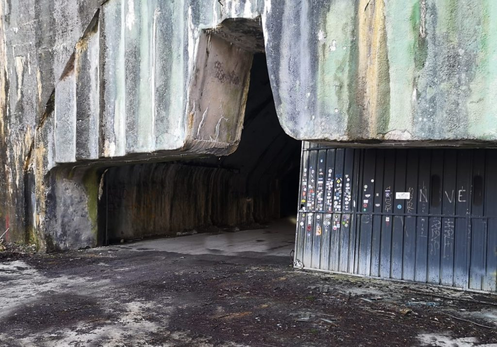 Drugi ulaz u podzemnu zračna baza Željava