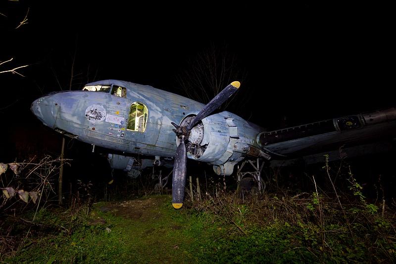 Očuvani Douglas C-47 (2014) @Ballota, wiki