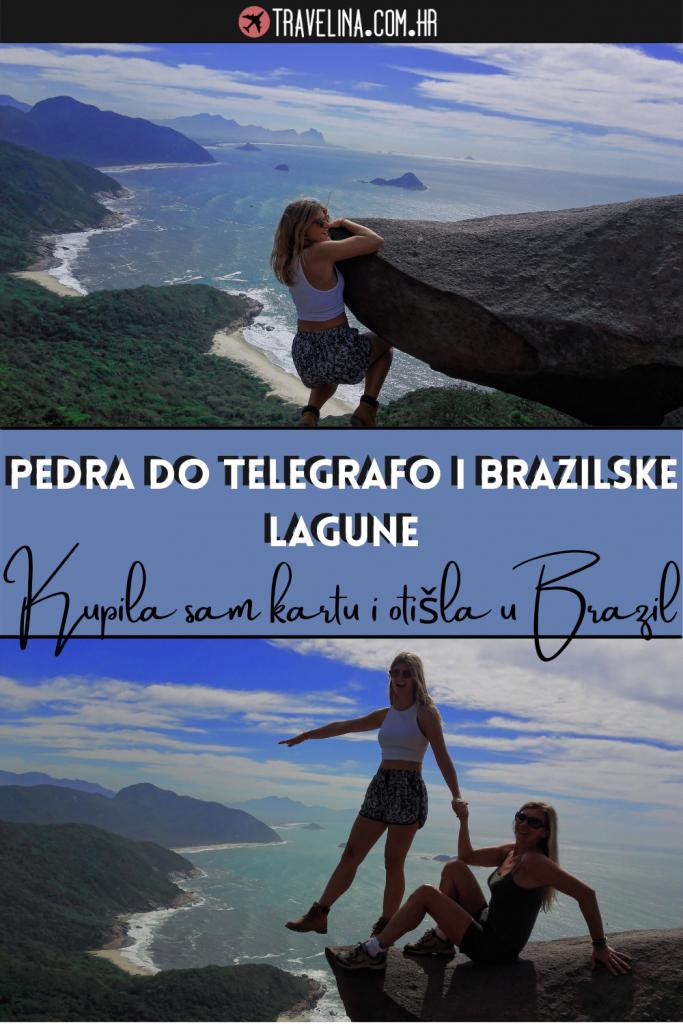 Pedra do Telegrafo i brazilske lagune