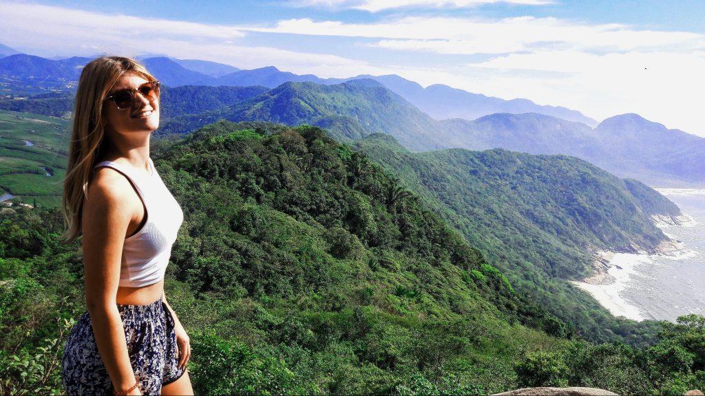 Pogled na prašumu sa Pedra do Telegrafo