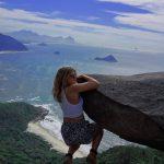 stijena pedra do telegrafo brazil rio dejaneiro putovanja travelina com hr